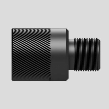 Silencer adapter 1/2 UNF to 1/2 UNEF